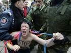 Militantes do Femen são detidas na Crimeia após criticas a Putin