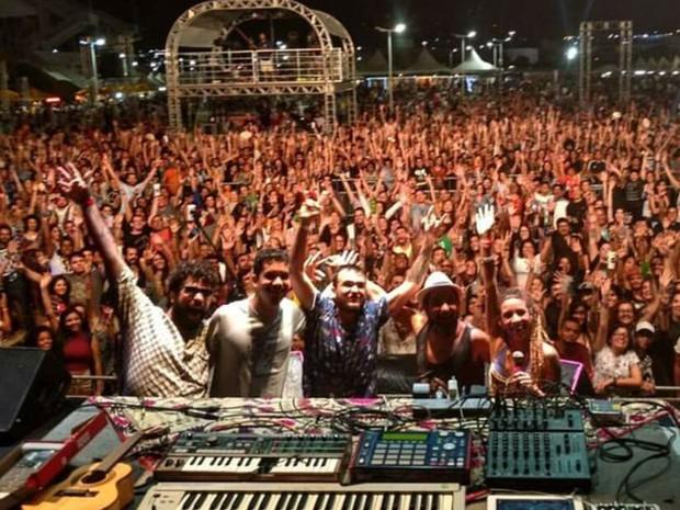Festival Mada chegou ao fim na madrugada deste domingo (25), em Natal (Foto: Marcilio Amorim/G1)