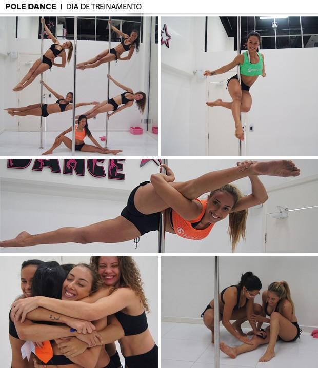 pole dance treinamento (Foto: Amanda Kestelman)