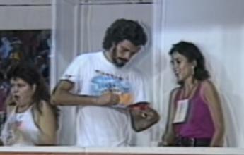 """Memória: jurado no carnaval de 86,  """"animado"""" Sócrates revolta Portela"""