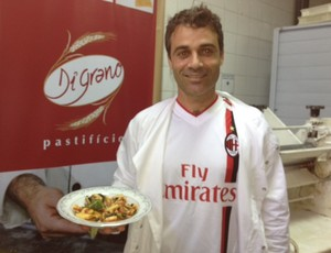 Chefe de cozinha italiano (Foto: Cristiane Mussi/Globoesporte.com)