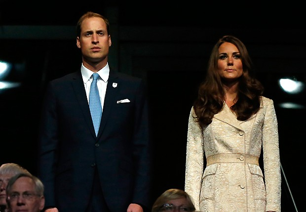 Will e Kate (Foto: AP)