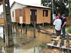 Rio Tarauacá atinge cota de alerta pela segunda vez em menos de 1 mês
