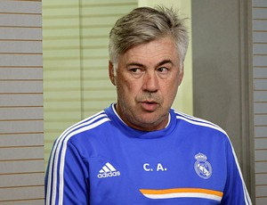 Carlo Ancelotti coletiva Real Madrid (Foto: EFE)