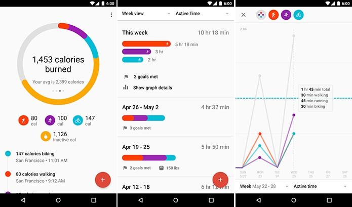 Gooogle Fit ajuda usuário a entrar em forma com metas e estatísticas (Foto: Divulgação/Play Store)