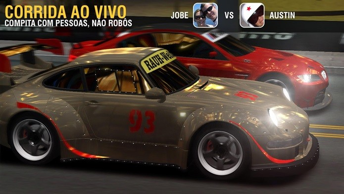 Racing Rivals segue a fórmula de CSR Racing, mas aposta na customização de veículos (Foto: Divulgação)