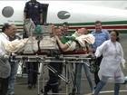 Jackson Follmann é transferido para um hospital em Chapecó (SP)