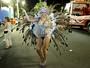 Natalia Casassola usa microfantasia para desfile na Sapucaí: 'Ganhei tudo'
