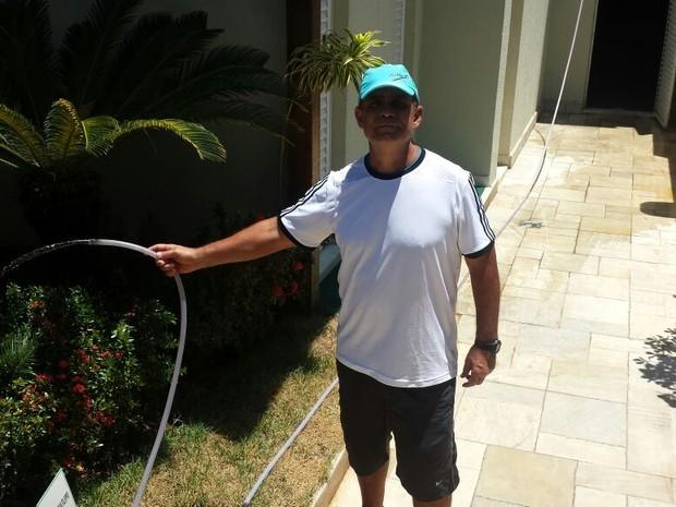 Domingos Filho viu oportunidade em estação de água ociosa na Barra (Foto: André Nascimento / arquivo pessoal)