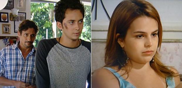 Ben diz que Ronaldo venceu e Anita sofre com saudade do amado (Foto: Malhação / TV Globo)