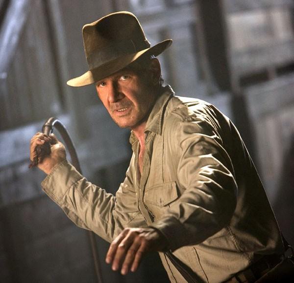 Harrison Ford em Indiana Jones e o Reino da Caveira de Cristal (2008) (Foto: Divulgação)