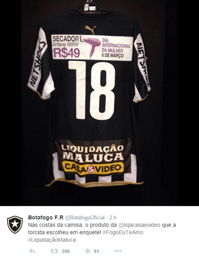 Camisa Botafogo Primeiro tempo