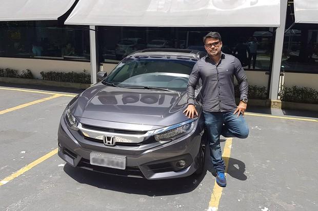 Opinião do dono: novo Honda Civic Touring (Foto:  Ricardo Tadeu Fonseca Ferreira)