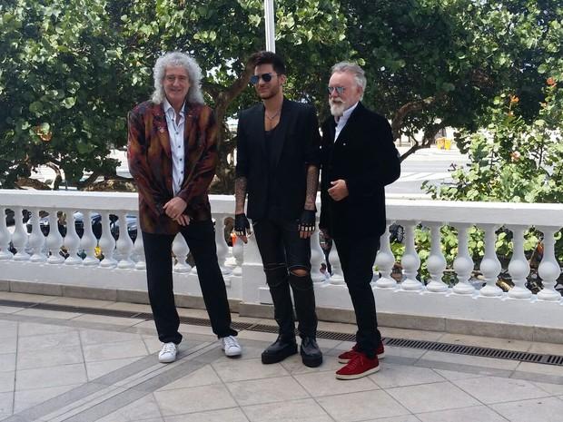 Queen + Adam Lambert (Foto: Cristiano Rubin/Multishow)