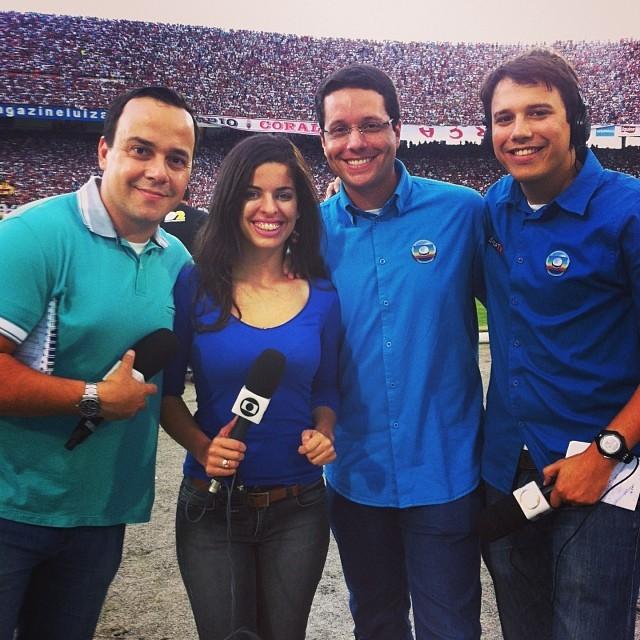 Equipe Globo Esporte PE (Foto: Arquivo Pessoal)