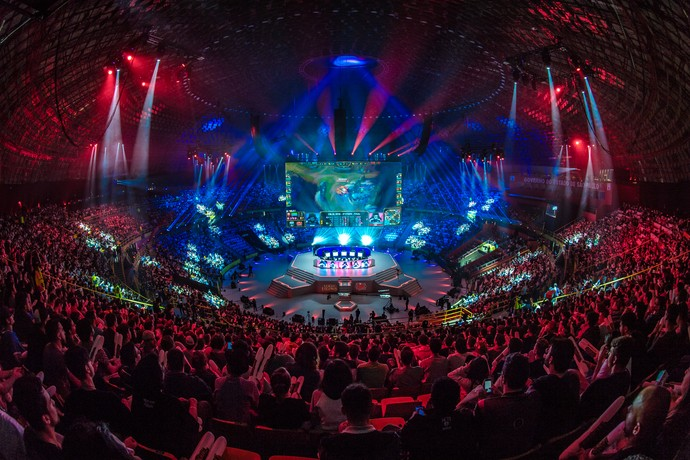 Ibirapuera - League of Legends - Final CBLoL (Foto: Divulgação / Riot)