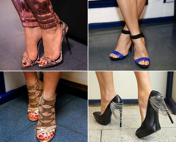Sapatos Claudia (Foto: Gshow)