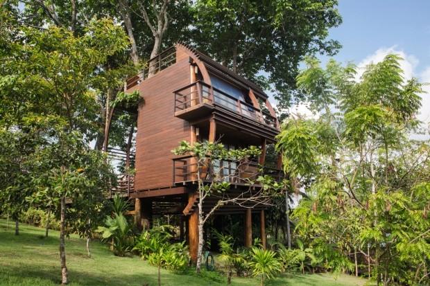Hotel Mirante do Gavião, em Novo Airão, na Amazônia (Foto: Thais Antunes / Divulgação)