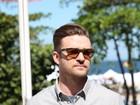 Na véspera de subir ao palco do RIR, Justin Timberlake lança filme no Rio