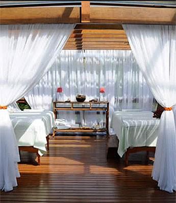 Spa Sport Resort Itu massagem (Foto: Divulgação / Site Oficial)