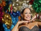 Susana Vieira se prepara para desfilar na Sapucaí: 'Sou rainha da p... toda'