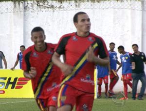 Atacante Tito do Mato Grosso (Foto: Reprodução/TVCA)
