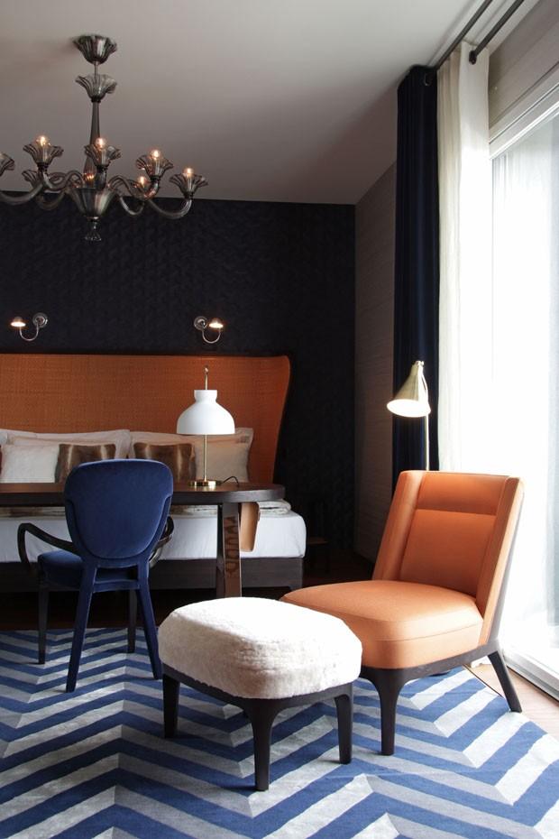 Clássico de Hitchcock inspira apartamento na Itália  (Foto: Michael Catoir)