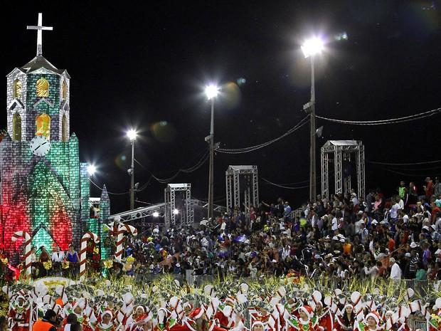 União da Vila do IAPI falou sobre Canela no Porto Seco (Foto: Anselmo Cunha/PMPA)
