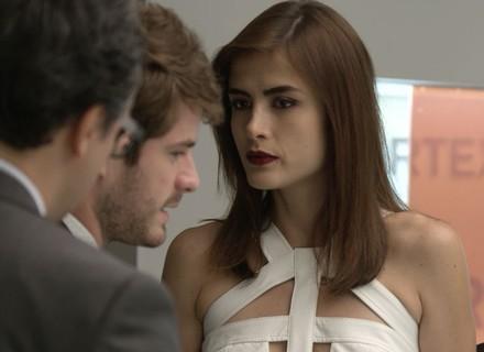 Margot discute com Ben por causa de Grego: 'Você não sabe de nada'
