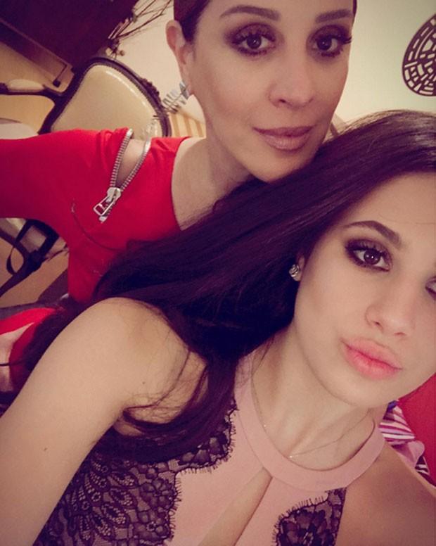 Claudia Raia e Sophia Raia (Foto: Reprodução)