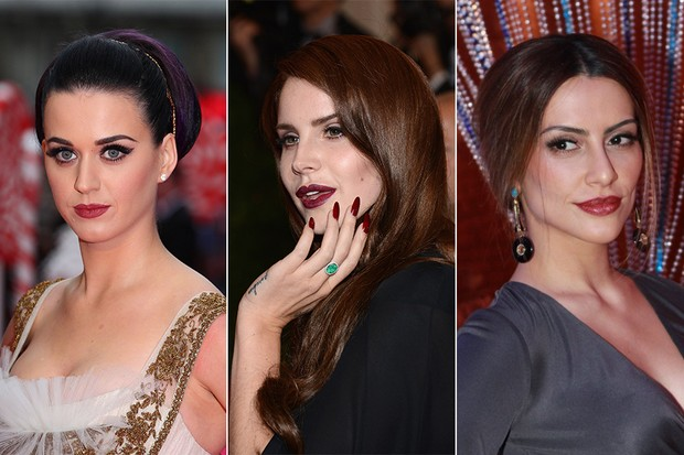 Kate Perry, Lana Del Rey e Cleo Pires (Foto: Getty Images / Getty Images / Photo Rio News)