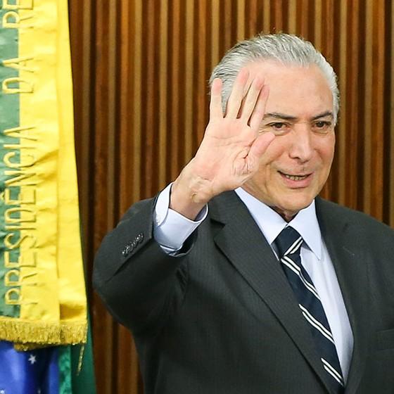 Michel Temer se reúne com líderes da Câmara e do Senado (Foto: Marcelo Camargo/Agência Brasil)