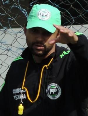 Arthur Marcelo, Presidente Prudente, PPFC, técnico (Foto: Valmir Custódio / GloboEsporte.com)