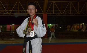 Jeferson Raony, lutador acreano (Foto: Nathacha Albuquerque)