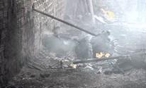 Incêndio atinge galpão de materiais recicláveis em Brejo da Madre de Deus (Divulgação/ Blog Agreste Notícia)