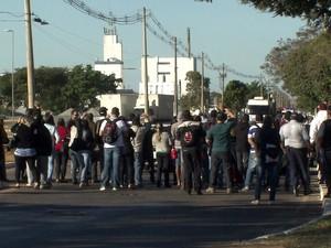 GNews - Greve de ônibus no DF (Foto: globonews)