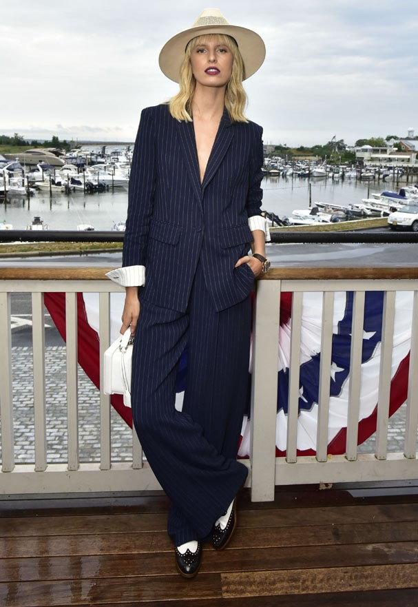 SAG HARBOR, NY - JULY 13:  Karolina Kurkova attends the Hamptons Magazine Celebration with Cover Star Karolina Kurkova  on July 13, 2017 in Sag Harbor, New York.  (Photo by Eugene Gologursky/Getty Images for Hamptons Magazine) (Foto: Getty Images for Hamptons Magazi)