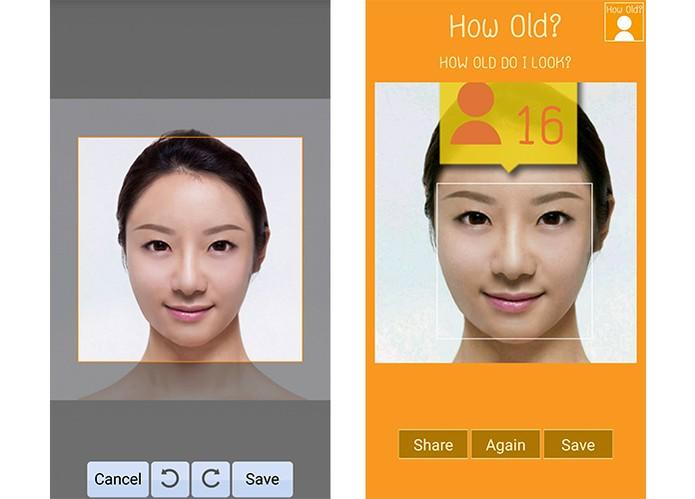 Selecione uma parte da imagem ou rotacione para saber a análise da idade (Foto: Reprodução/Barbara Mannara)