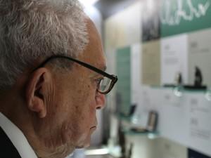 Escritor alagoano Lêdo Ivo morreu ao 86 anos (Foto: Ricardo Lêdo/Gazeta de Alagoas/Cortesia)