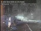 Helicóptero da PM do Rio cai e quatro policiais morrem