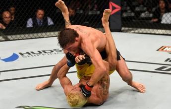 """Pepey é """"amarrado"""" por Darren Elkins e perde por pontos no UFC Chicago"""