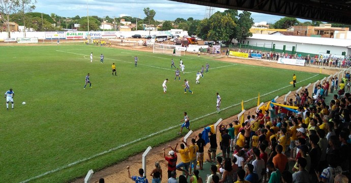 Interporto empata novamente no Tocantinense  (Foto: Leandro Santiago/ TV Anhanguera )