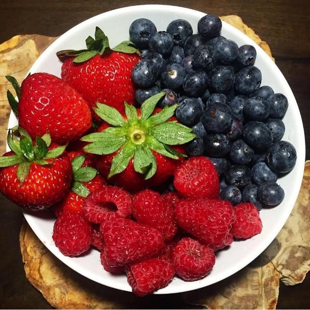 Lanche da tarde: frutas (Foto: Divulgação)
