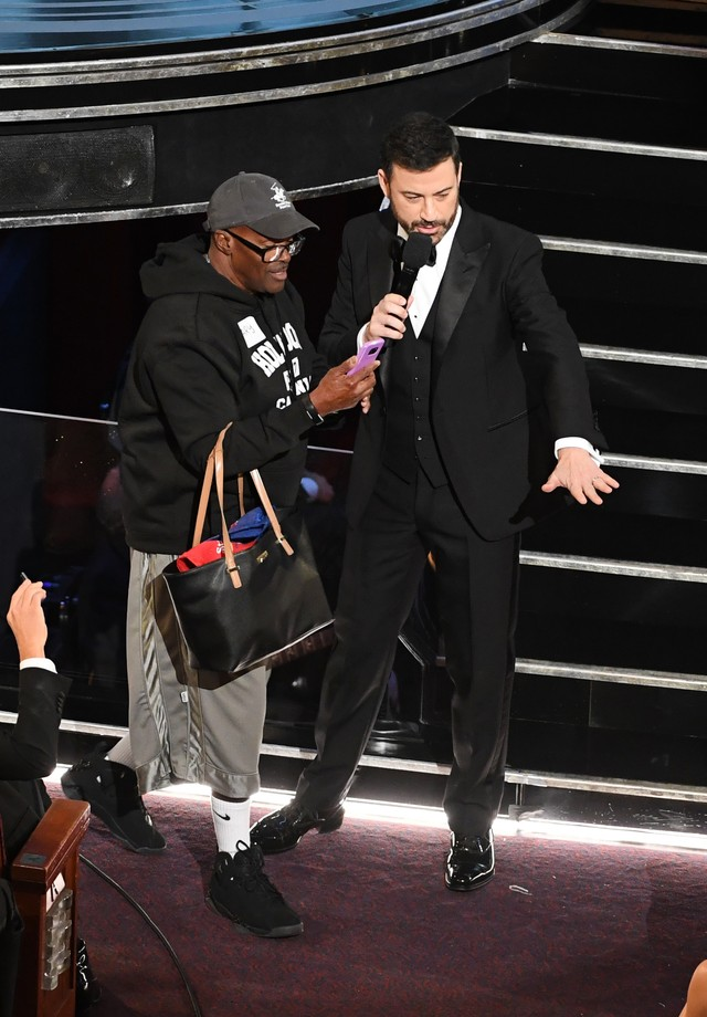 Gary com Jimmy Kimmel (Foto: Getty Images)