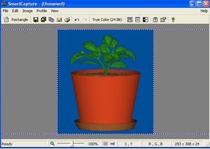 SmartCapture, captura e edição de imagens