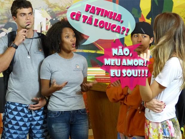 Fera, Rita, Pilha e Fatinha (Foto: Malhação/ TV Globo)