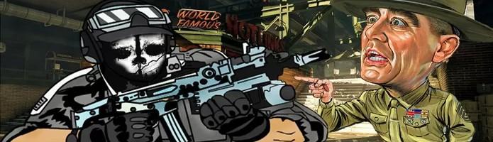 Ator Ronald Lee Ermey encarna novamente um instrutor de treinamento em DLC de Call of Duty: Ghosts (Foto: Cdcflooper / heartoftexasblog.com)