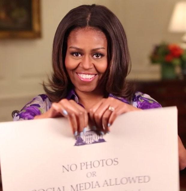 Michelle Obama anuncia fim da proibição a fotografias durante os tours para turistas na Casa Branca' (Foto: Reprodução/Instagram/Michelle Obama)