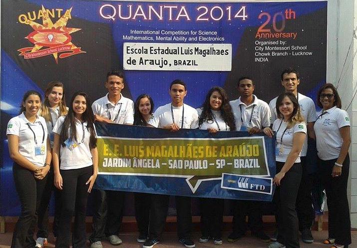 Jovens de escola pública participam de olimpíada de robótica na Índia - Galileu