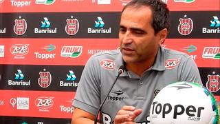 Rogério Zimmermann, técnico, Brasil de Pelotas, Brasil-Pel, Série B (Foto: Jonathan Silva / GE Brasil / Divulgação)